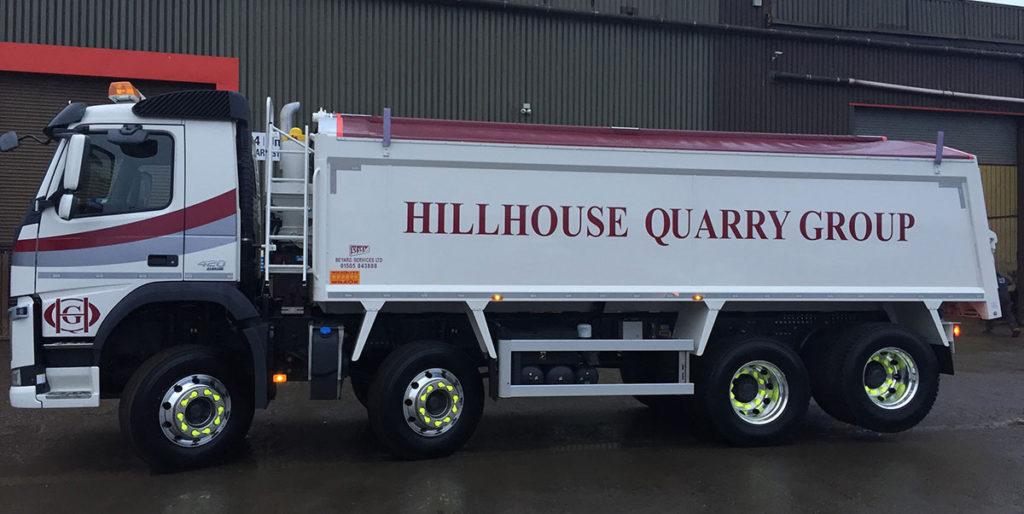 8 wheel tipper hire